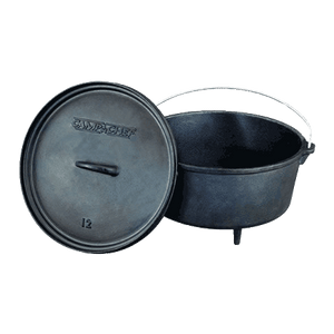 "CLASSIC 12"" CAMP CHEF DUTCH OVEN, INCLUDES LID LIFTER"