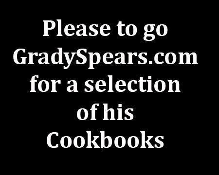 GRADY SPEARS COOKBOOKS