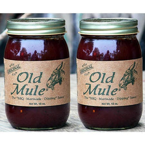 OLD MULE BBQ SAUCE (2 Bottles)