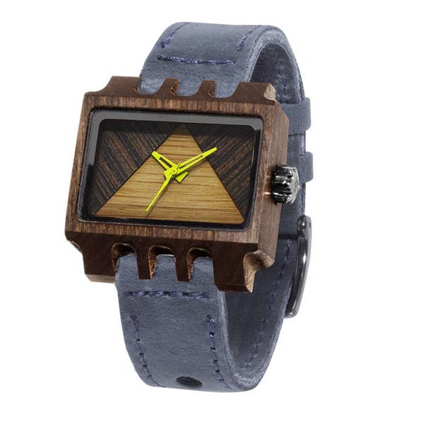 Mistura Timepieces Lenzo Navy Pui Timber 2 R Watch