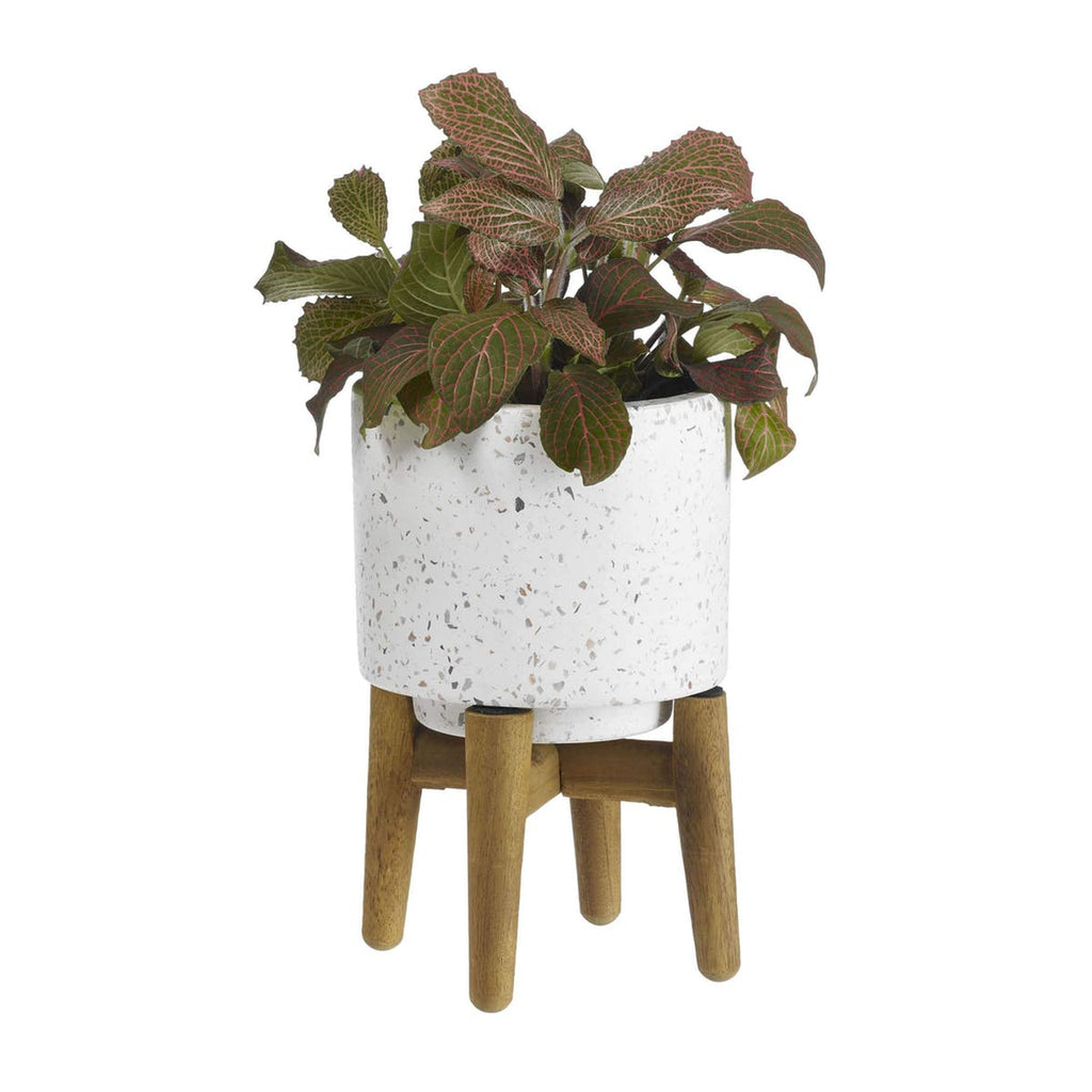 Terrazza Planter w/ Wood Legs