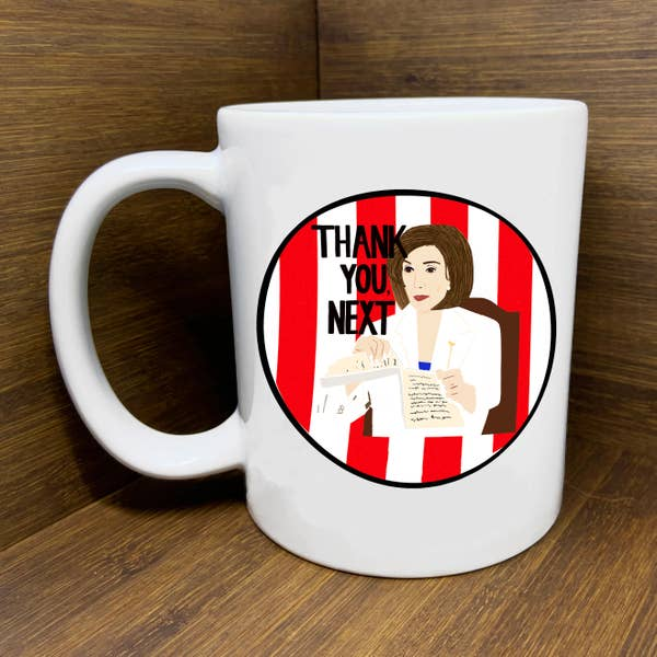 Nancy Pelosi State of the Union Mug