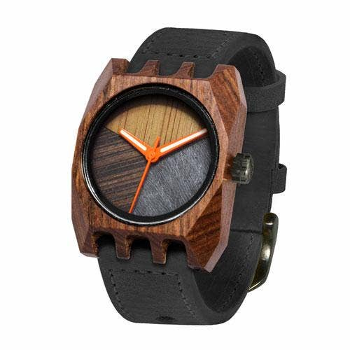 Mistura Timepieces Volkano Black Pui Timber 1 O Watch