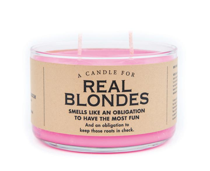 A Candle for Real Blondes