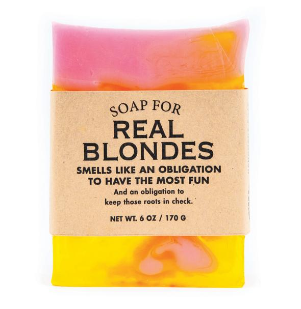 Soap for Real Blondes