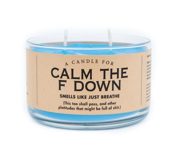 A Candle for Calm the F Down