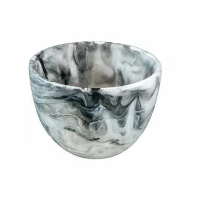 Resinware Australia Deep Small Bowl - Black Swirl