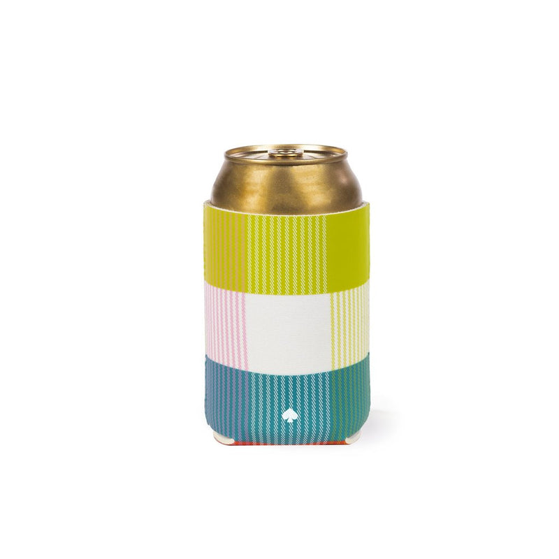 Kate Spade New York Drink Hugger - Rainbow Plaid / Bird Party