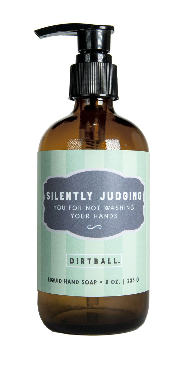 Whiskey River Soap Co. Liquid Soap Dog Saliva, Fake News, Silently Judging, Pretentious