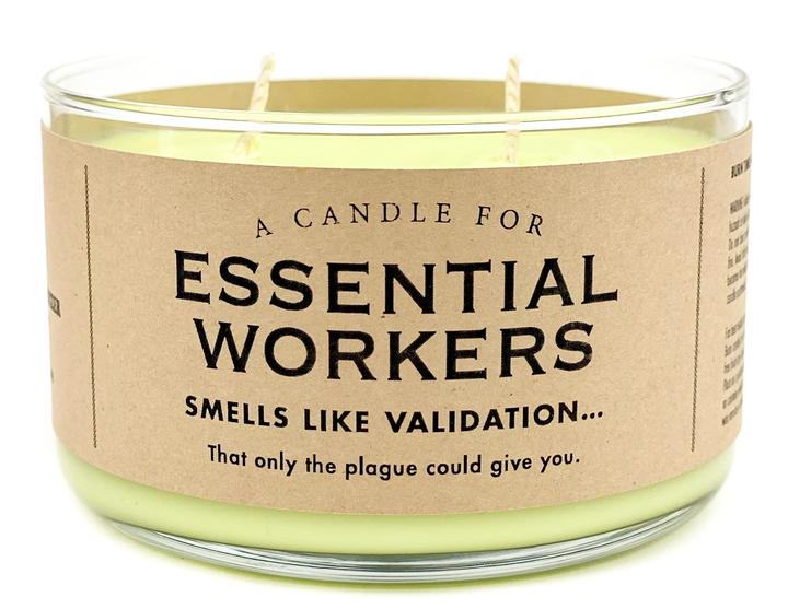 A Candle for Essential Workers