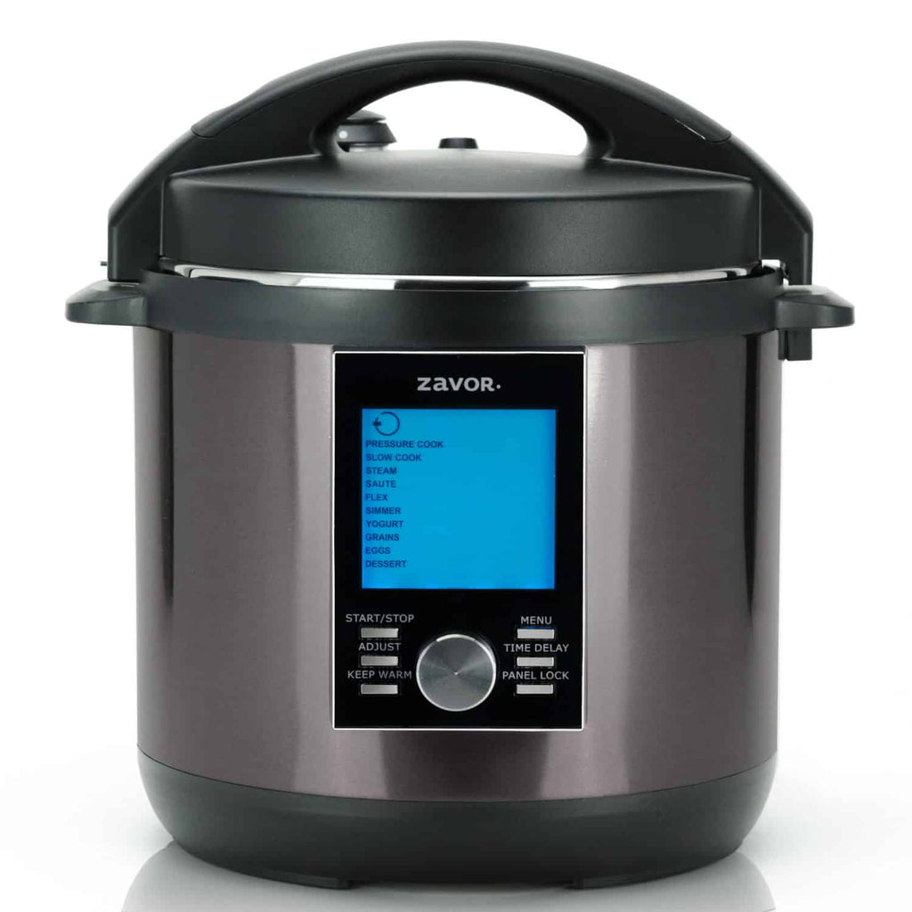Zavor America LUX LCD Multi Cooker -8 Quart Black Stainless