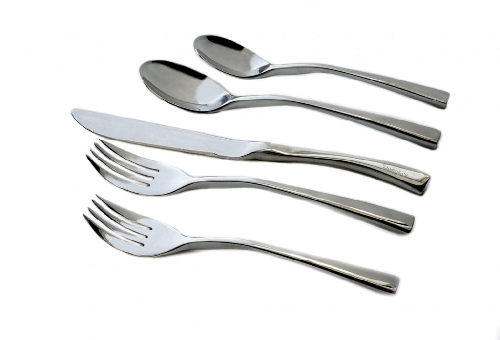 KNORK Curve Style Flatware Set of 20 Matte Finish