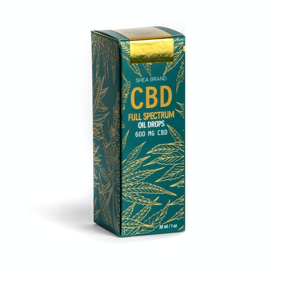 Sheabrand CBD Full Spectrum Oil Drops