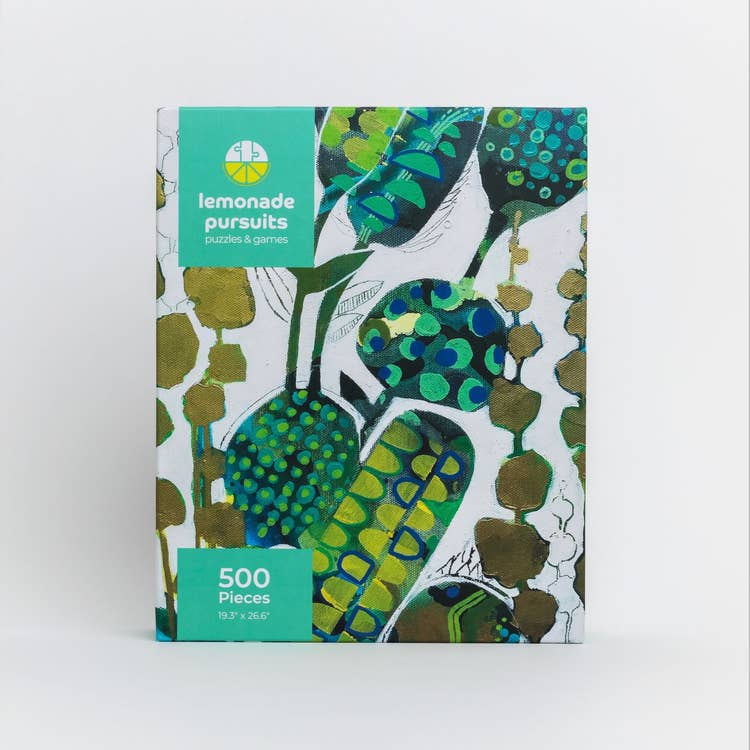 Lemonade Pursuits Botanical Song Puzzle (500 pieces)