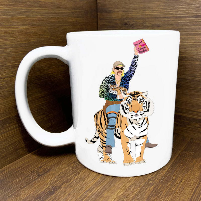 Joe Exotic Tiger King Coffee Mug / Carole Baskin Coffee Mug