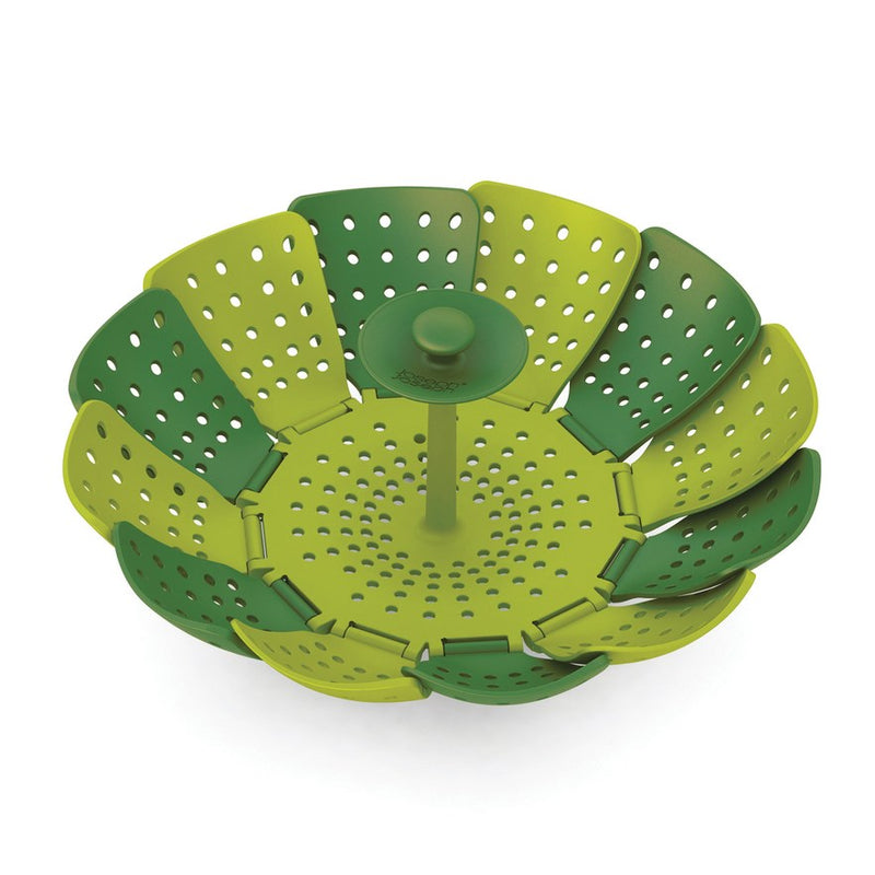 Joseph Joseph Lotus Plus Folding, Non Scratch Steamer Basket