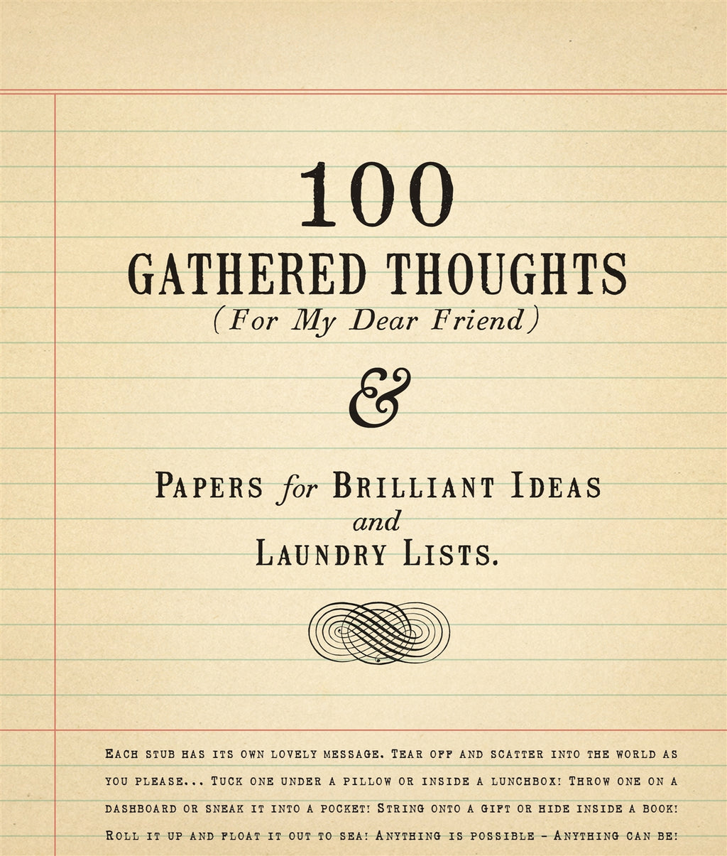 Sugarboo & Co 100 Gathered Thoughts Notepad