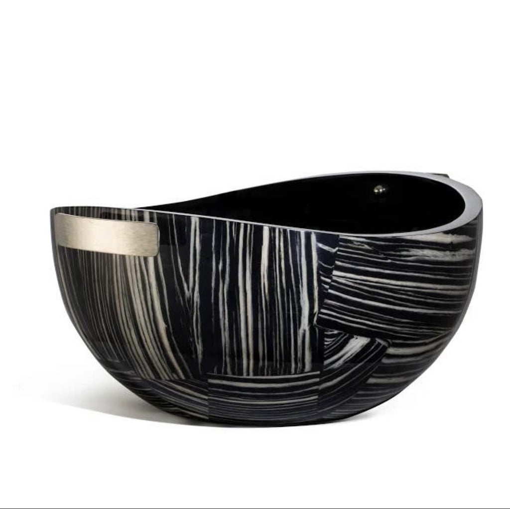 LADORADA Ebano Veneer Serving Bowl