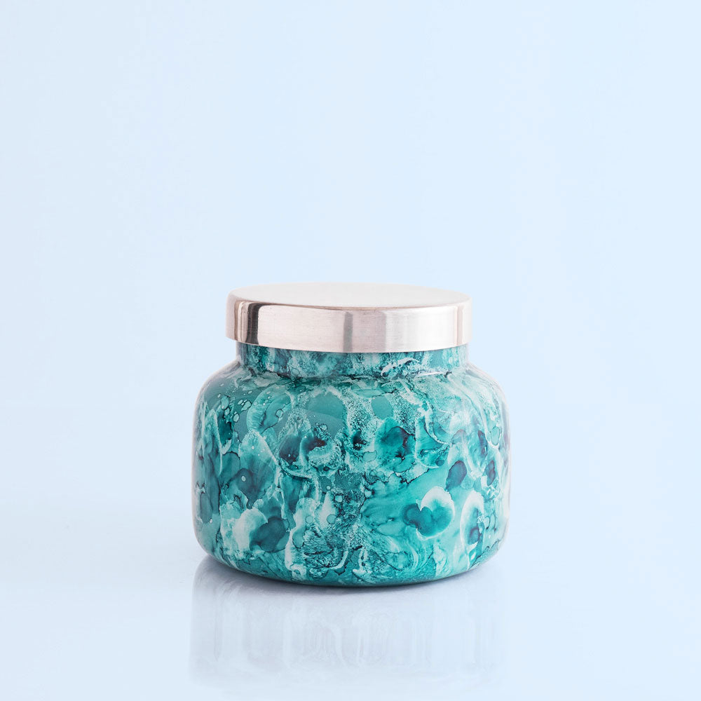 Capri Blue Cactus Flower Watercolor Signature Jar, 19 oz