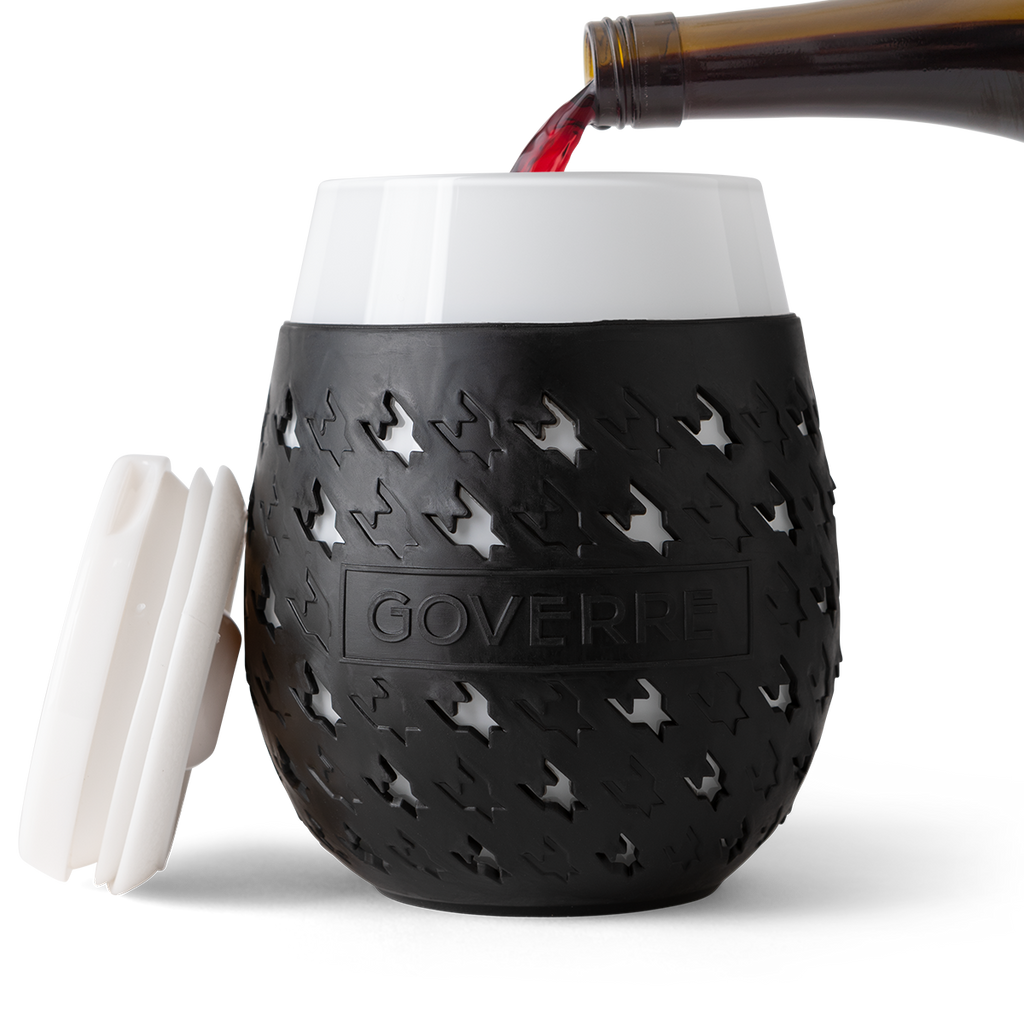 Goverre Portable Wine Glass / Black
