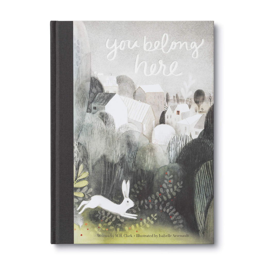 You Belong Here / Childrens Book / Written by: M.H. Clark