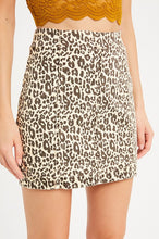 Leona Leopard Mini Skirt