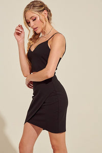 Beverly Black Cut Out Dress