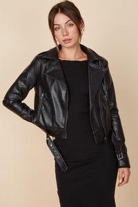Lincoln Leather Moto Jacket