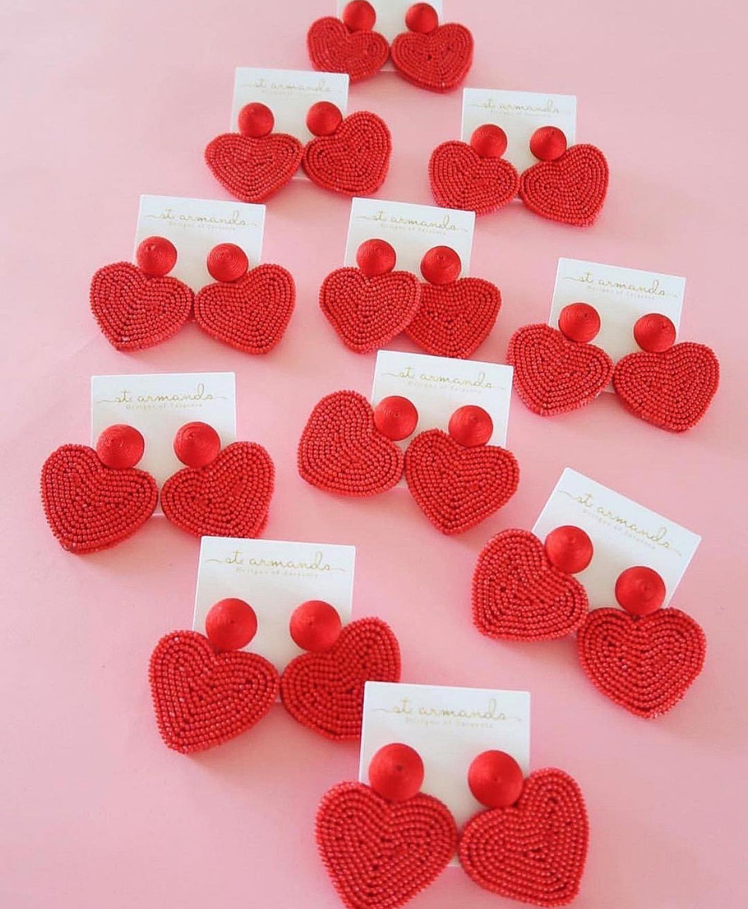 Red Hearts | St. Armands Designs