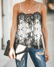 Laney Lace Cami in Snake