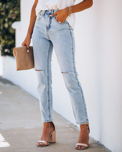 Vivi High Rise Vintage Denim