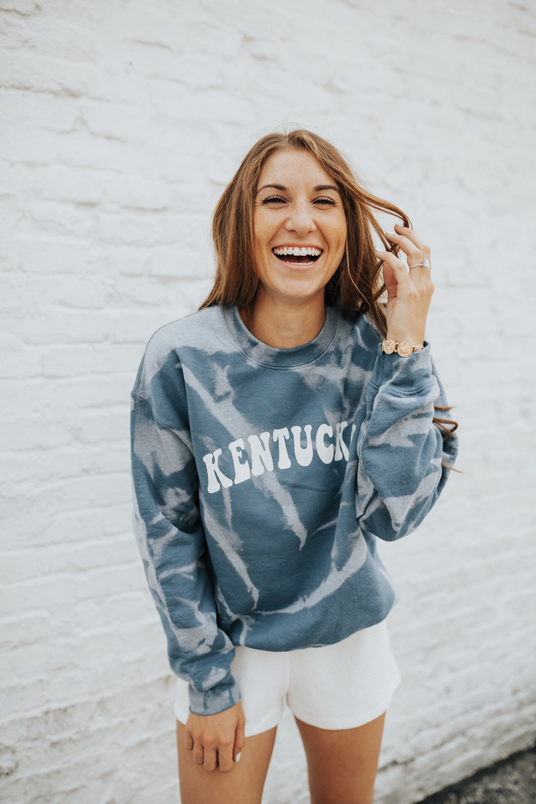 JCB Exclusive: Kentucky Tie Dye Sweatshirt