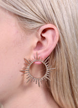 Siris Diamond Sunburst Earrings
