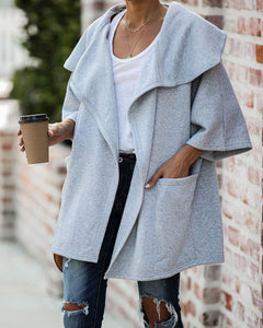 Nica Pocketed Fleece Cardigan