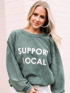 Charlie Southern | Support Local Corded Sweatshirt