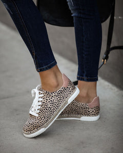 Lucia Cheetah Espadrille Sneakers
