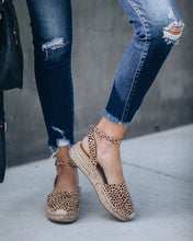 Emerson Cheetah Espadrille Sandals