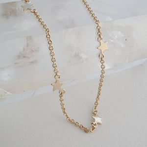 Starling Necklace in Gold