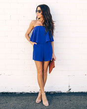 Ramsey Strapless Pocketed Romper