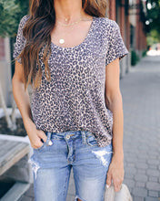 Lee Leopard Pocket Tee