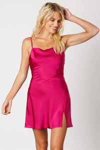 Candi Pink Tie Back Dress