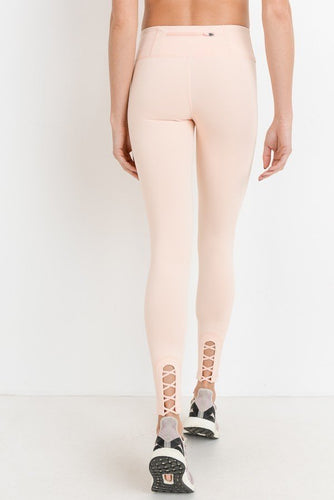 Blakely Blush Detail Leggings