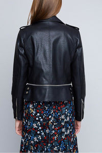 Leighton Leather Moto Jacket