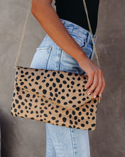 Cheetah Envelope Clutch