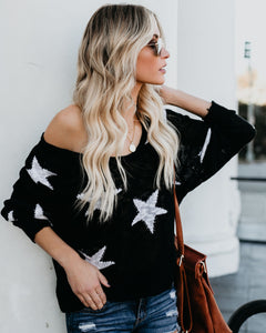 Starlet Sweater in Black