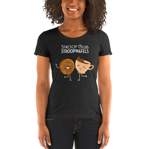 Stroopie & Coffee Love t-shirt (women's)