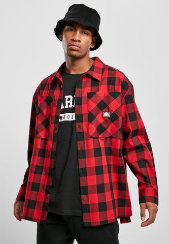 SOUTHPOLE FLANNEL SHIRT | RED