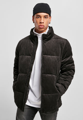 URBAN | VELOURS PUFFER | BLACK