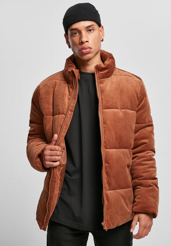 URBAN | VELOURS PUFFER | TOFFEE