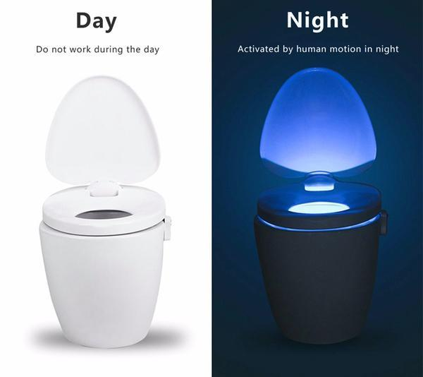 Motion Activated Toilet Light-FREE shipping - Martem Collection